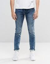 ONLY & SONS Slim Jog Jeans in Light blue Wash