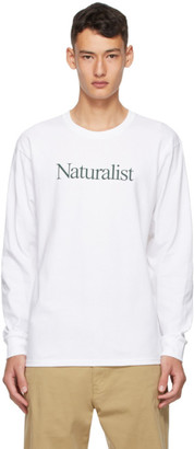 Museum of Peace and Quiet White Naturalist Long Sleeve T-Shirt
