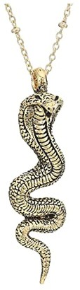 Vanessa Mooney Cobra Necklace (Gold) Necklace