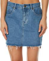 Roxy Take This Chance Skirt Blue