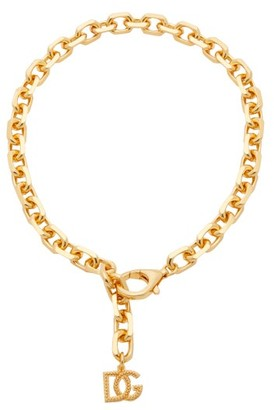 Dolce & Gabbana charm Chain Necklace - Gold