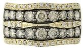 LeVian Le Vian 14K Yellow Gold Chocolate & White 2.40ct. Diamond Ring Size 10.75 - 11