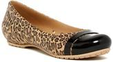 Crocs Cap Toe Leopard Print Flat (Women)