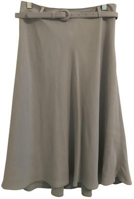 Ralph Lauren Blue Silk Skirt for Women