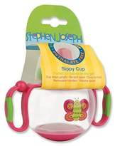 Stephen Joseph Sippy Cup, Butterfly Pink by