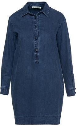 Denim Shirt Dress By Conquista Fashion
