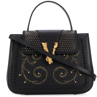 Versace Virtus Western tote bag
