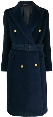 Tagliatore double breasted midi coat