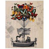 Asstd National Brand Butterfly adventures Canvas Wall Art