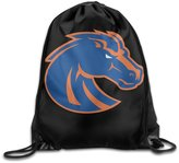 HITKF Boise State Broncos Logo Drawstring Backpack Bag
