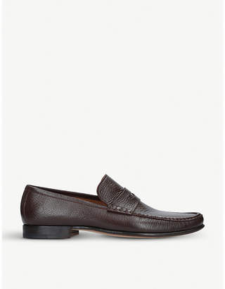 Stemar Sorrento leather penny loafers