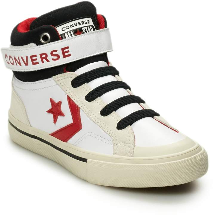 d9d324e051262 Boys' CONS Pro-Blaze Leather High Top Shoes