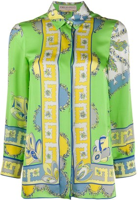 Emilio Pucci Pre-Owned Abstract Print Shirt