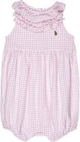 Ralph Lauren Gingham cotton bodysuit 3-18 months