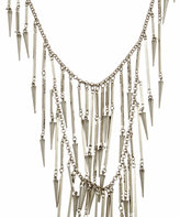 Ben Amun Double Row Spike Necklace