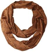 D&Y Women's Faux Suede Loop Scarf