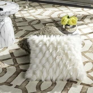 Bellino Mercer41 Luxe Feather Throw Pillow Mercer41