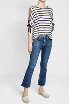 Velvet Jude Striped Top with Cotton