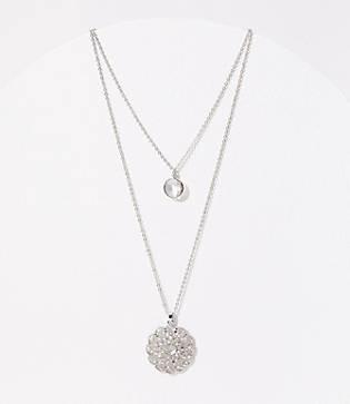 LOFT Filigree Long Necklace