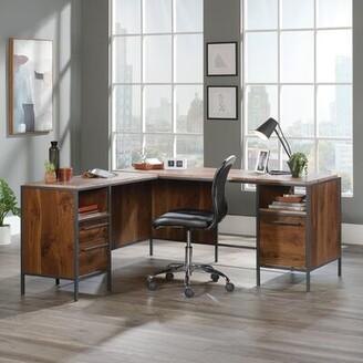 17 Stories Sproul L-Shape Executive Desk