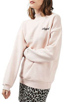 Topshop Babygirl High Neck Sweatshirt by Tee and Cake