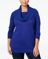 MICHAEL Michael Kors Size Convertible Cowl-Neck Sweater