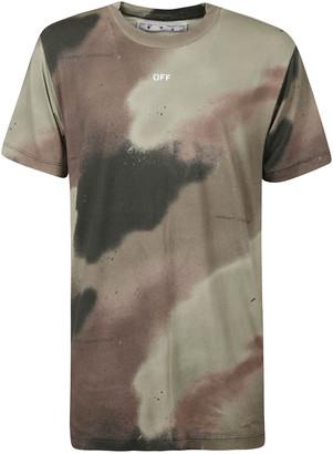 Off-White Camo Stencil Slim T-shirt