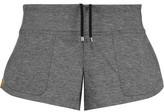 Monreal London Slub Stretch-Jersey Shorts