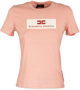 Elisabetta Franchi Celyn B. T-shirt With Logo
