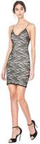 Alice + Olivia Stila Fitted Lace Mini Dress