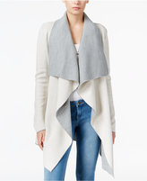 Bar III Reversible Draped Cardigan, Only at Macy's
