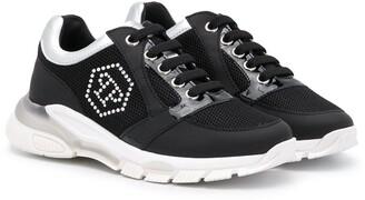 Philipp Plein Runner Crystal logo sneakers