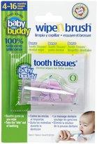 Baby Buddy Wipe N Brush - Pink