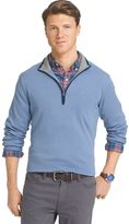 Izod Men's Classic-Fit 12gg Solid Quarter-Zip Pullover Sweater
