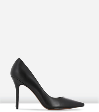 LAUREN MARINIS - Women's Black Stilettos - Vargas - Size One Size, 40 at The Iconic