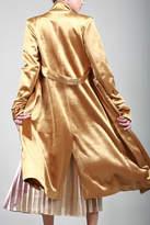 BEULAH STYLE Velvet Trench Coat