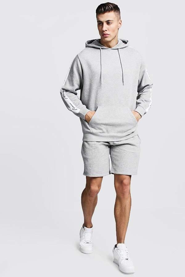 ea6a7f49ae20e boohoo Grey Activewear For Men - ShopStyle UK