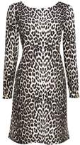 Wallis Brown Leopard Print Shift Dress