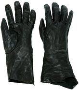 Isaac Sellam Experience - leather gloves - men - Leather - 8