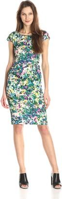Tracy Reese Women's Floral-Print Sheath Dress