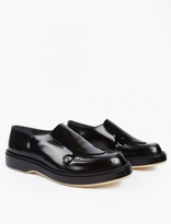 Adieu Black Leather Type 81C Loafers