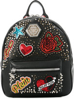 Philipp Plein patch backpack