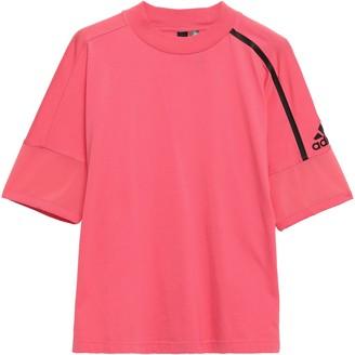 adidas Mesh-trimmed Cotton-jersey T-shirt