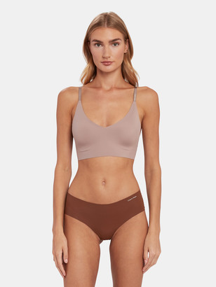 Calvin Klein Underwear Invisible Lightly Lined Triangle Bralette