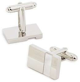 The Men's Store at Bloomingdale's Mother-of-Pearl Striped Cufflinks - 100% Exclusive