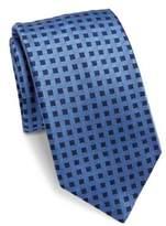 Saks Fifth Avenue COLLECTION Basketweave Silk Tie