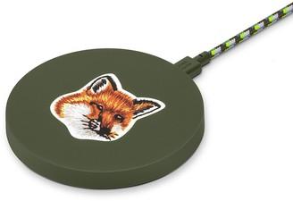 Native Union x Maison Kitsune Drop Wireless Charging Pad Green