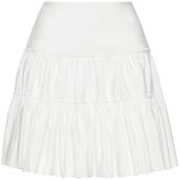 Giambattista Valli High Waist Pleated Mini Skirt
