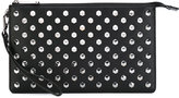MICHAEL Michael Kors studded clutch bag