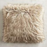 Pier 1 Imports Faux Fur Coyote Pillow